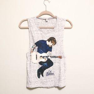 Ed Sheeran Tank Top Music Concert Merch Size S